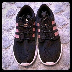 Adidas Lightweight Sneakers Black Women's 5.5